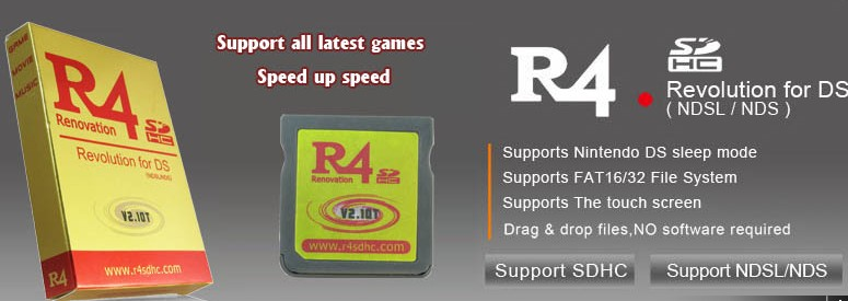 ShopForYourDS - nds cards - r4-sdhc v2 10t